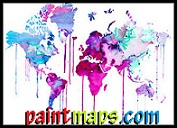 Paint Maps Online with Statistics
